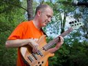 On Fretless at Refuge House Benefit