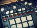 Mixing the new beat tape on my MPD-32 (www.TCUSTOMZ.COM)