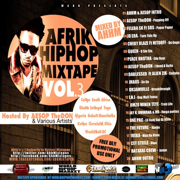 RAP MOFI FEUSS:extrait de la compil AFRIK HIP HOP MIXTAPE VOL 3 by