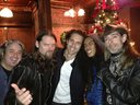 Me with Rex Brown, Mark Zavon and the boys