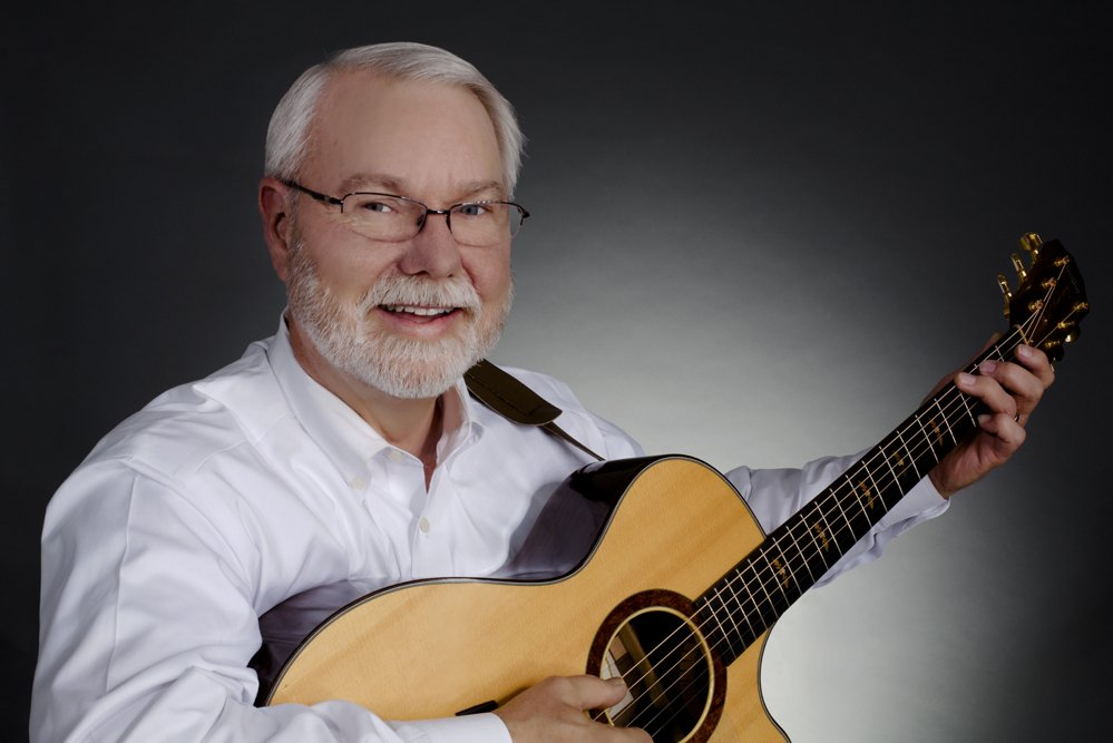 Russell Lawson and his Taylor 712-CE