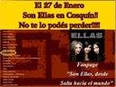 El 27 de enero de 2013, SON ELLAS estarán presentes en el Festival de Folklore de Cosquín junto a