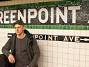 Greenpoint stop. Photo credit: Steven Shea