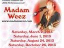 2013 Dates @ Wonder Bar Cleveland OH 4th Street District