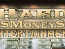 """It says """"Hard Money Entertainment, but its 2 wide..S/O the homie Eric Jamal on the design..."""