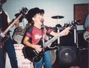 9 Years old with WELLS FARGO band