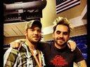 me and Brian Bonds...aka Lead Guitar for Florida Georgia Line
