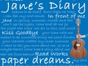 "Frontcover ""Paper Dreams"""