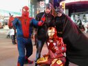 Spider man fat lol.TIME SQUARE .Me and THE AVENGERS