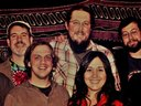 The Reckoning - (l to r) Eric Fuller, Jason Darr, Jared Wenerd, Eric Avey, Kate Avey, Eric Wagaman,