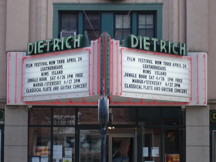 dietrich theater tunkhannock pa shows schedules and directions reverbnation. Black Bedroom Furniture Sets. Home Design Ideas