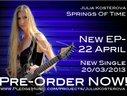 Julia Kosterova New EP - Pre-Order NOW!