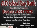 100.00 cash prize!!! Local artists compete! Plus Live performances