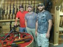 Jeff, Craig, & Tony at Runnin' Wild Farm