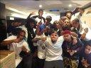 Uiie Popcorn and Chris Brown