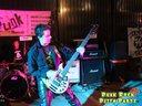 "The ""Sman"" TEARING UP the 8 string bass with Identity Theft at The Punk Rock Pizza Party with The In"