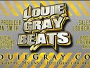 Louie Gray Beats 2nd Business Card -Design by LouieGray.com