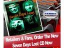 Seven Days Lost - Retail Flyer