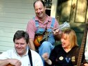 The Parsons Trio on the front porch 2011