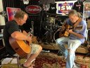 Going thru several of my unfinished songs with Mr.John McCardle .