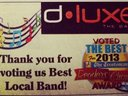 MANY THANKS TO ALL THOSE WHO VOTED US #1!!!