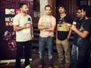 Interviewing with VJ Nikhil Chinapa for MTV Ray Ban Never Hide Sounds