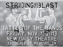Big news for the band! We're competing in a Battle of the Bands on Nov.1 at The New Daisy Beale St.