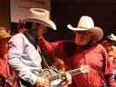 Tucker jammin with Charlie Daniels