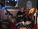 Bill and Bill jr keep the groove together at the Blue Tractor 10_25_13