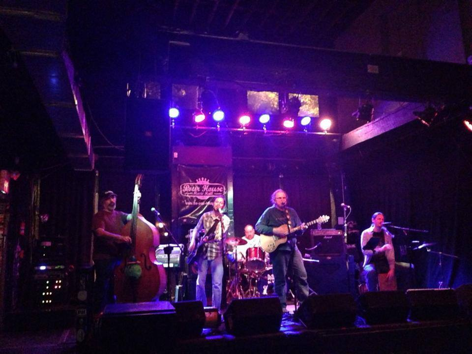 On stage w/ David Gans at The Pour House during the Fall 2013 Tour!