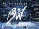 Official 2014 Winter Tour Poster