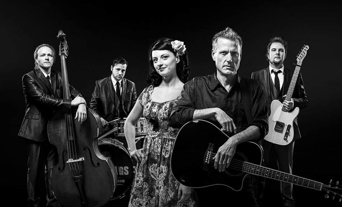 """Line-Up """"TENNESSEE THREE + JUNE CARTER"""" [Photo by Tobias Ebert]"""