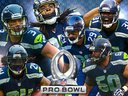 Six Pack of Seahawks to 2013-14 Pro Bowl