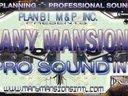 The Many Mansions Pro-Sound Dept. Ad Banner. B4 we became Pro-Media