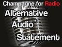 Alternative Audio Statement