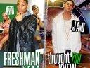 Freshman Year/Thought U Knew mixtape cover