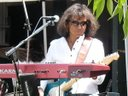 Archie on guitar and keyboards