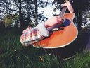 Nothin like a little guitar in the sun