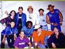 Milo Z and the Nevilles, 1994. That's Biff in the orange shirt and white hat.