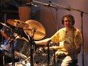 Robert Beltram - Night Messenger member at Tanglewood Studios (working on just-released album)