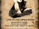 Versailles Plays the Viper Room March 6th