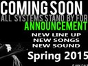 new line up coming soon