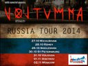 VOLTUMNA - RUSSIA Tour 2014