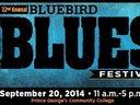 Saturday, September 20th  The Bluebird Blues Festival
