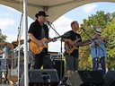 Rickshaw Lizard at the Locust Point Fest, Baltimore, Sep 20, 2014.  W/ Gary Hendrickson on trumpet.
