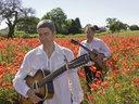"From the ""Home Grown"" poppy field photo shoot. Photo by Matt Gore"