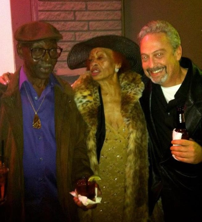 with Texas Johnny Brown and Miss Lavelle White