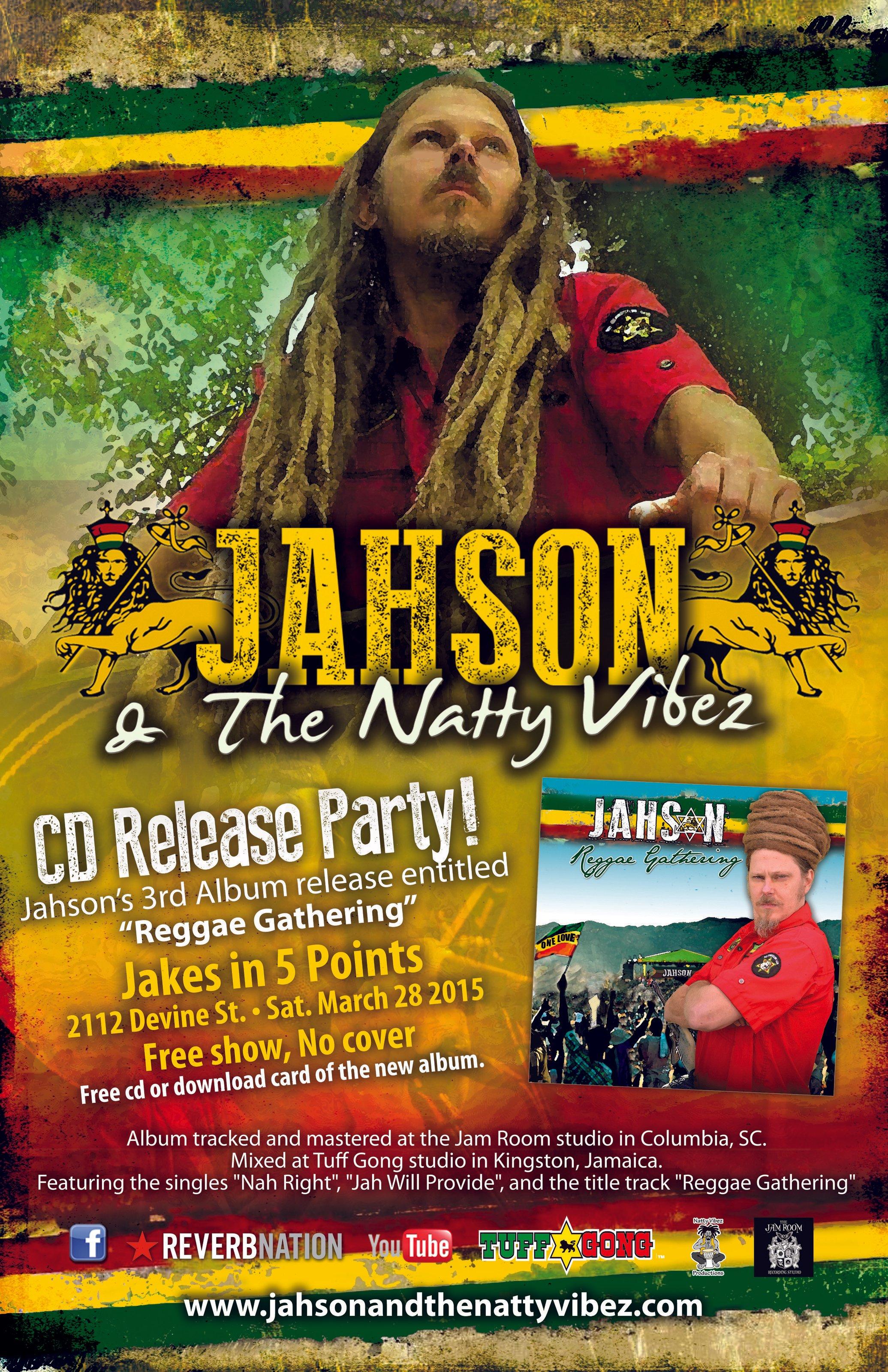 Jahson & The Natty Vibez   ReverbNation