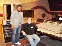 Prince's former engineer and I at the old  Flyte Tyme studios.This is who I will be working with.
