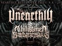 Advert for US Tour 2015 in direct support for the mighty Unearthly (Brazil) across the US South East